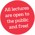 All lectures open to the public and FREE!